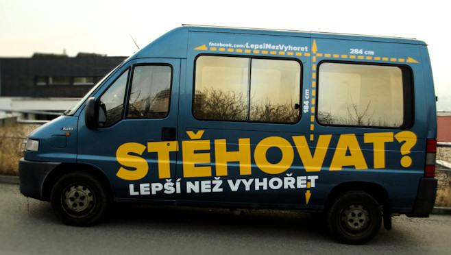 dodávka/minibus na špinavou práci