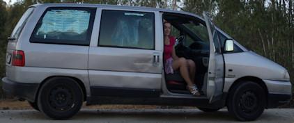 auto na bydlení