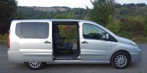 cosy minibus for a not-so-dirty job